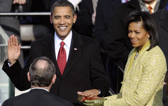obama-swearing-in-jan-20-091